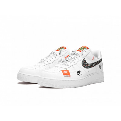 Мужские кроссовки Nike Air Force 1 Low Just Do It White